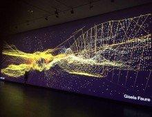 Instalación audiovisual – Espacio de música y arte digital del Centro Cultural Kirchner – CCK